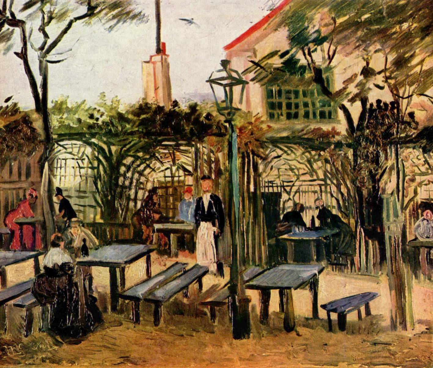 van gogh in paris essay Free essay: vincent van gogh was a dutch post-impressionist painter, whose work represents the archetype of expressionism, the idea of emotional spontaneity.