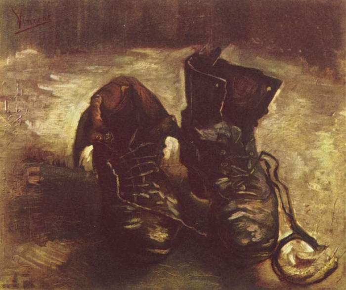 Натюрморт - башмаки 1886