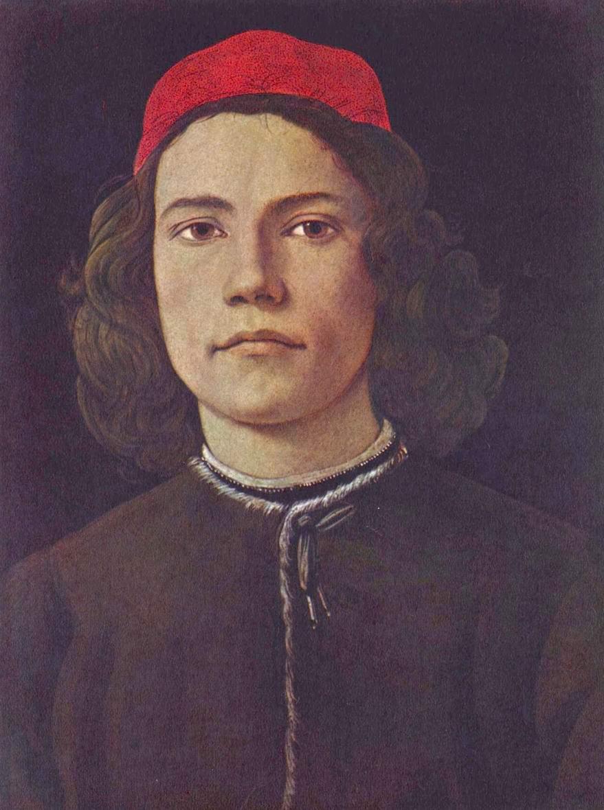 Сандро Боттичелли - Портрет молодого человека
